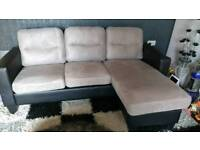 Sofa corner/chaise one day old!!