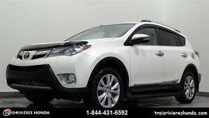 2013 Toyota RAV4 Limited 4WD cuir mags toit