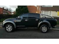 NO VAT!! Low mileage!! Mitsubishi L200 Warrior. Full Leather. Excellent condition inside & out.