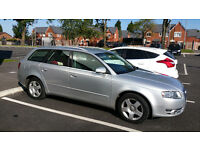 AUDI A4 2.0 SE TDI ESTATE AVANT MANUAL DIESEL 2005 55 PLATE