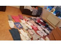 Girls summer clothes bundle age 8, 8-9, 9 years. John Lewis, M&S, Ted Baker, Fat Face, Tu etc