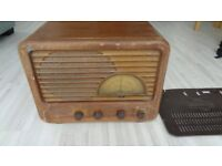 Vintage Sobel am radio for sale. circa 1940's working condition