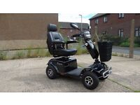 PIONEER RASCAL FULL SIZE MOBILITY SCOOTER USED ONLY TWICE - ROAD AND PAVEMENT SUITABLE - LONG RANGE