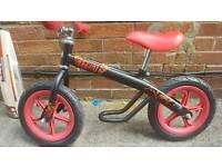 Red Balance Bike