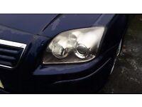 Toyota avensis mk4 front nearside headlight 06 - 09