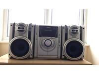 Panasonic 5cd multi changer hifi