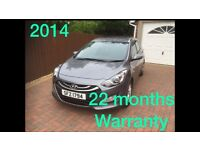 2014 Hyundai i30 1.6crdi diesel 6sp estate 5dr only £20tax FSH (not a golf focus Leon ceed civic)