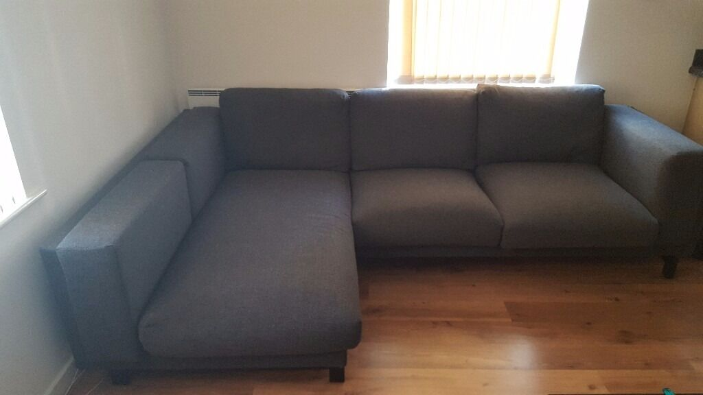 2 Months Old Ikea Nockerby Corner Sofa In York North