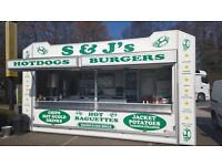 Burger bar catering assistant at Hedge End B&Q