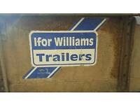 IFOR Williams Trail Gate Braked Trailer