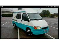 2001 FORD TRANSIT 2.5 LESUIRE DRIVE, 4 BIRTH MOTOR HOME, LOVELY VAN