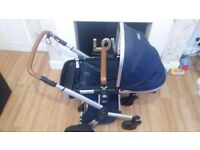 joolz pram, carrycot and accessories
