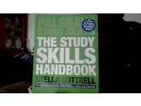 Palgrave Study Skills. The Study Skills Handbook. for sale  London