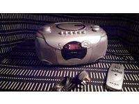 ALBA CX576SIL CD Radio Cassette - Silver