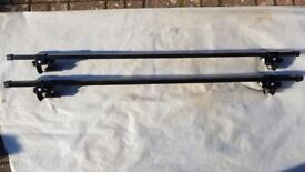Roof bars, (suitable for vehicles with raised roof rails).