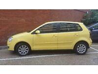 VW Polo 1.4 TDi - Diesel - Yellow