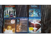 Collection of 6 Blu-Rays