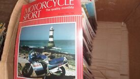"""Motorcycle Sport"" magazine collection"