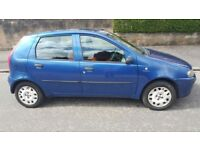 2003 Fiat Punto Dynamic 1.2 Petrol 5 Door Only Done 58000 Miles Only.