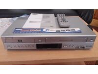 SAMSUNG DVD & VIDEO COMBI. PLZ NOTE DVD IS NOT A RECORDER