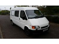 Ford Transit LWB Fully Loading Van Smiley Face Excellent Condition MK5 2000 year W reg