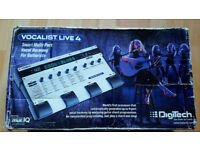 Digitech Vocalist Live 4! Rare discontinued. Boxed, power supply, good condition