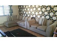 Comfy corner and 2 seater sofa !
