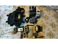 Job lot of ghost hunting equipment