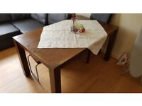 Solid Oak Dining Table 6 Chairs