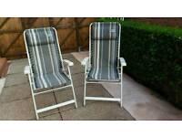 Kampa reclining chairs