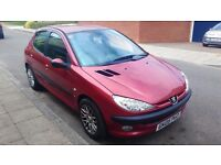 Peugeot 206 SE 1.4 Red 2005 Petrol 5 Door (7 months MOT) Very good condition inside & out
