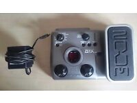 ZOOM G1X Guitar Multi Effects Pedal with Expression Controller & Tuner | Adapter Included | MINT