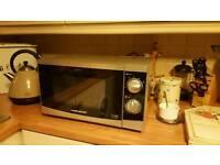 Morphy Richards microwave.