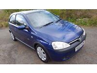 BARGAIN**Vauxhall Corsa Sxi 1.2 16v**MOT NOVEMBER**Ideal 1st Car**Greater Driver**ONLY £795!!