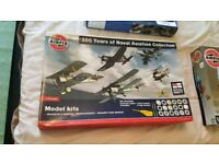 100 years of Naval aviation collection model kit