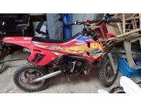 Moto Moroni kids Motocross bike, no drive! Spares or repair