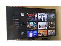 Hitachi 42HYT42U 42 Inch Full HD 1080P Freeview HD Smart LED TV - excellent condition
