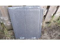 Marley Edgemere Duo Roof Tiles 50 good plus 50 plus with slight damage