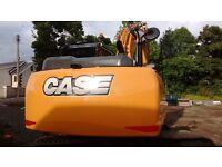 Case CX130C 360 degree Excavator digger track machine