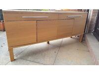Ikea Oak TV Cabinet
