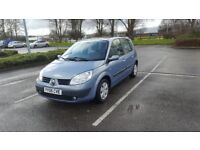 Renault SCENIC / petrol 1.6 / 12 months M.O.T / only 79k on the clock / 2006 year / top of the range