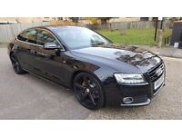 Audi a5 3.0 tdi s line quattro black full servis history hpi clear 20 in p\x welcome