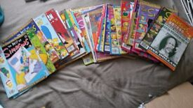 Simpsons magazines collection