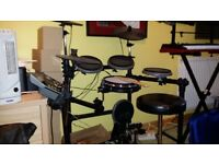 Millenium MPS-425 Electronic Drum Kit inc. Stool and Extra Double Kick Pedal