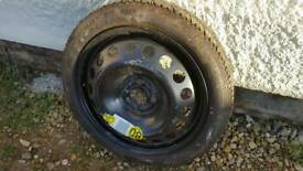 "*brand new* Vauxhall Corsa D 15"" space saver spare wheel"