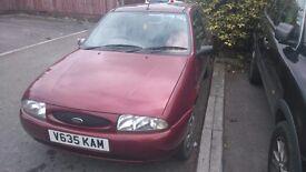 Ford Fiesta 1.3 petrol spare or repairs,mot failed