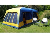 8 berth tent plus accessories