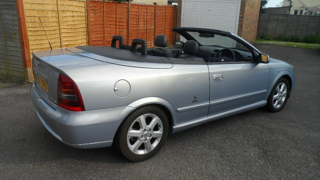 2002 vauxhall astra bertone 1 8 coupe convertible. Black Bedroom Furniture Sets. Home Design Ideas