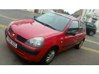 2004 1.2 Automatic clio mot 11 months cheap insurance and tax px polo corsa golf bmw