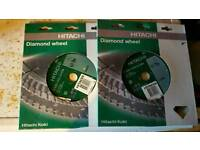 Hitachi 9 inch diamond tip grinder disc
